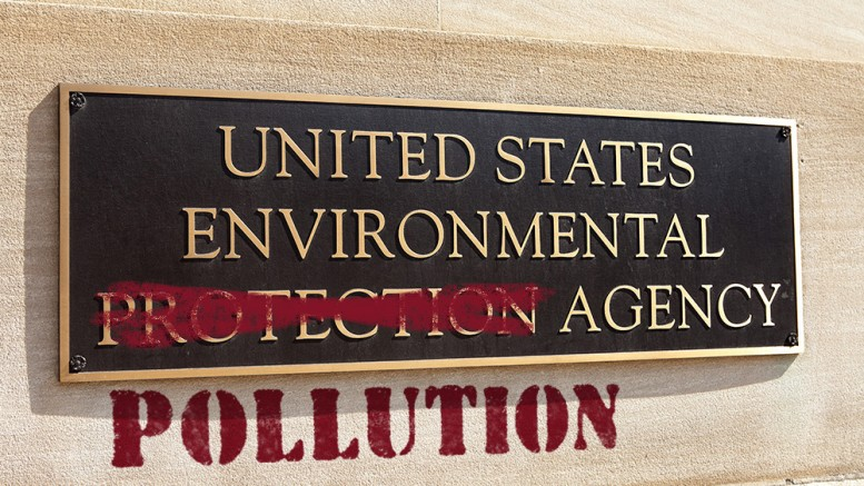 US-Environmental-Pollution-Agency-Sign